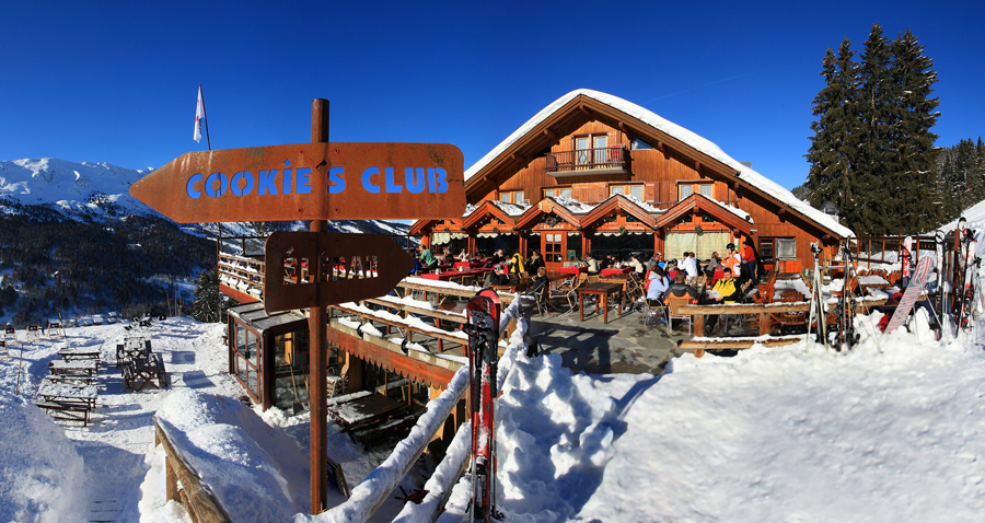 The most beautiful mountain restaurant in Meribel